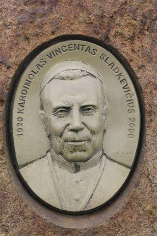 Kardinolo Vincento Sladkevičiaus gimtinėje, Guronių alkakalnis
